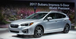 2017 Subaru Impreza wins Japanese Car of the Year