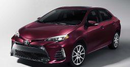Toyota Corolla 50th Anniversary Special debuts 2017 E170 facelift