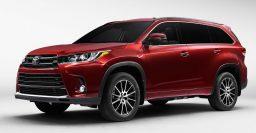 2017 Toyota Highlander: Much cheaper hybrid options, new SE sports trim