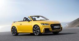 2017 Audi TT RS: 2.5-liter turbo 5-cylinder delivers 400hp (298kW)