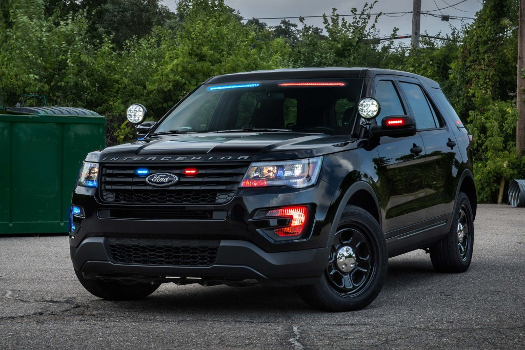 Ford Interceptor Utility With No Profile Lights 2016