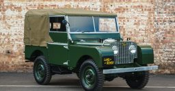 1948 Land Rover Series I: 25 SUVs to be restored by the factory
