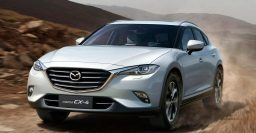 """2016 Mazda CX-4: China-only SUV """"coupe"""" based on the CX-5"""