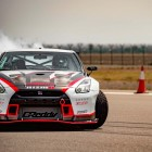 Modified R35 Nissan GT-R sets world record for fastest drift