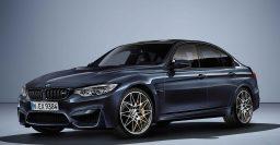 """2016 BMW M3 """"30 Years M3"""": A rhapsody in blue"""