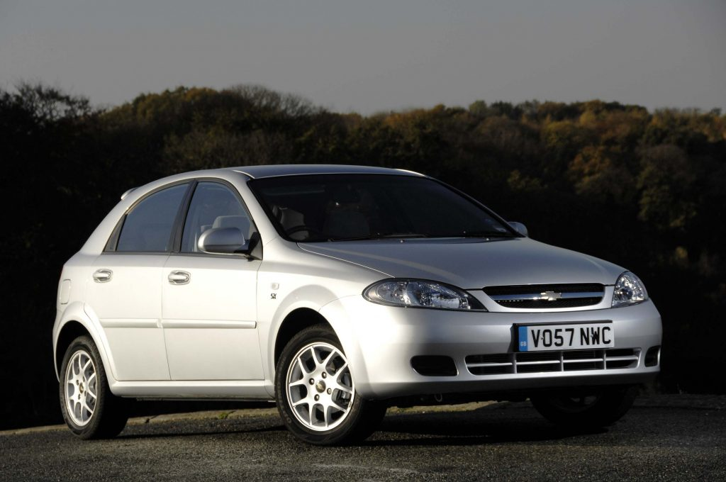 Chevrolet Lacetti hatch (J200, 2009, UK) photo gallery