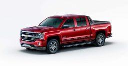 2016 Chevrolet Silverado High Desert: Pickup with magnetic shocks