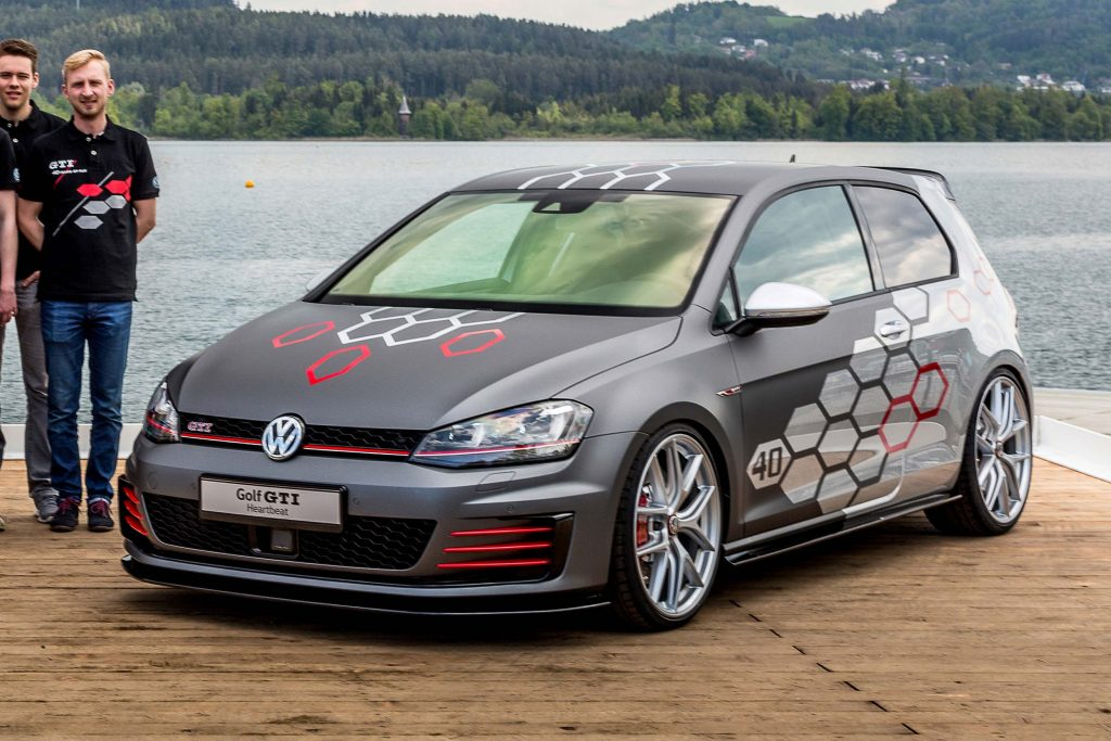 volkswagen golf gti heartbeat mark vii  worthersee    axles