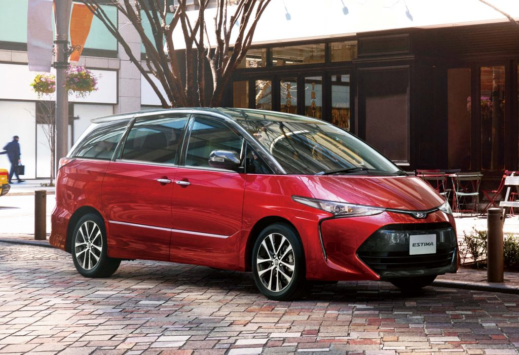 Toyota Estima (XR50 facelift, 2016) photo gallery ...