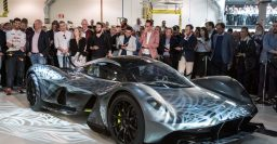 Aston Martin AM-RB001: limited edition Red Bull hypercar due 2018