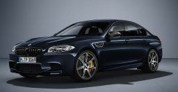 2016 BMW M5 Competition Edition: Euro-only model with 600hp/441kW