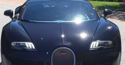 Cristiano Ronaldo celebrates Euro 2016 win with Bugatti Veyron