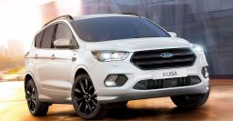 2017 Ford Kuga ST-Line: Lowered suspension, blacked out details