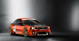 BMW 2002 Hommage: New with racing livery for Pebble Beach 2016