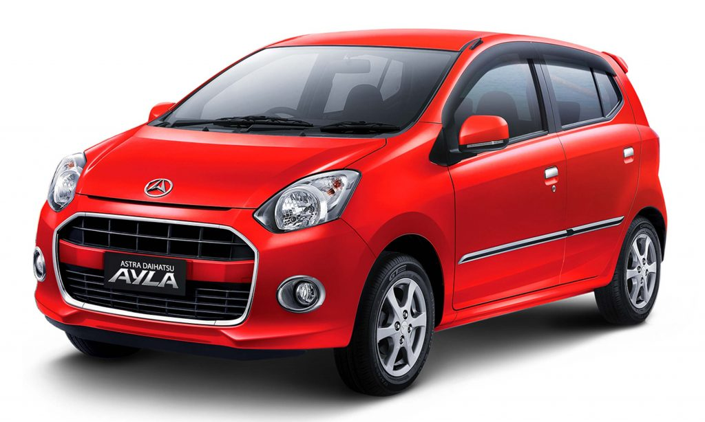 Daihatsu Ayla hatch (2016, first generation, Indonesia ...