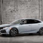 2017 Honda Civic 5-door hatch: 1.5-litre turbo sole engine in US