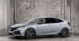 2017 Honda Civic 5-door hatch: 1.5-litre turbo sole engine in US