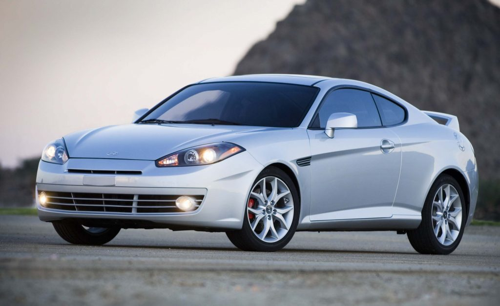Hyundai Tiburon (GK second facelift, 2007, 2008, USA) photos | Between the Axles