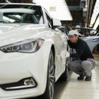 Infiniti Q60 (V37) @ production line Tochigi, Japan photos