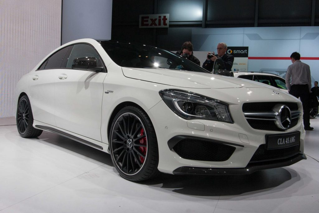 Mercedes benz cla45 amg c117 2013 new york auto show for 2016 mercedes benz cla45 amg