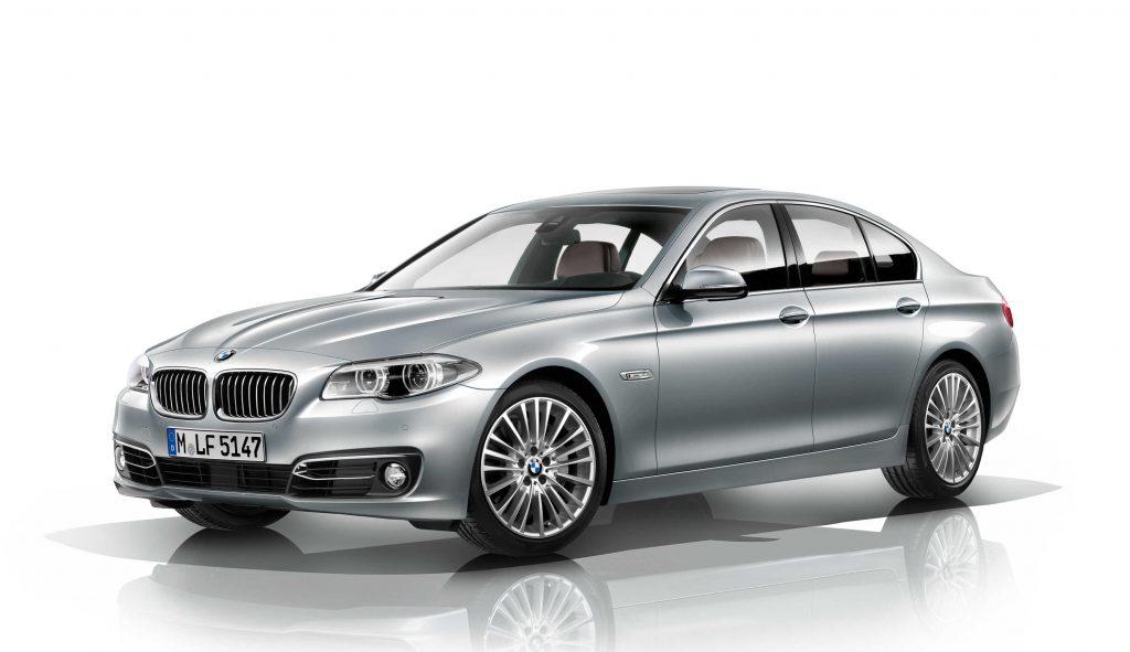 BMW 5Series sedan 2012 facelift F10 sixth generation photos
