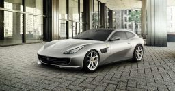 Ferrari SUV coming from around 2021 with suicide doors and hybrid V8