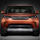 2018 Land Rover Discovery: LR4 replacement's front shown before debut