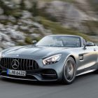2017 Mercedes-AMG GT C Roadster: More power from 4L twin-turbo V8