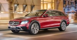 2017 Mercedes-Benz E-Class All-Terrain: Raised wagon not coming to US