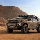 Chevrolet Colorado ZH2 fuel cell prototype (2016, GMT 31XX, US) photos