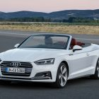 Audi A5 cabriolet (2017, second generation) photos