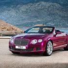 Bentley Continental GT Speed convertible (2013) photos