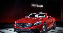 2017 Mercedes-Maybach S650 Cabrio: Limited edition has 6-liter V12