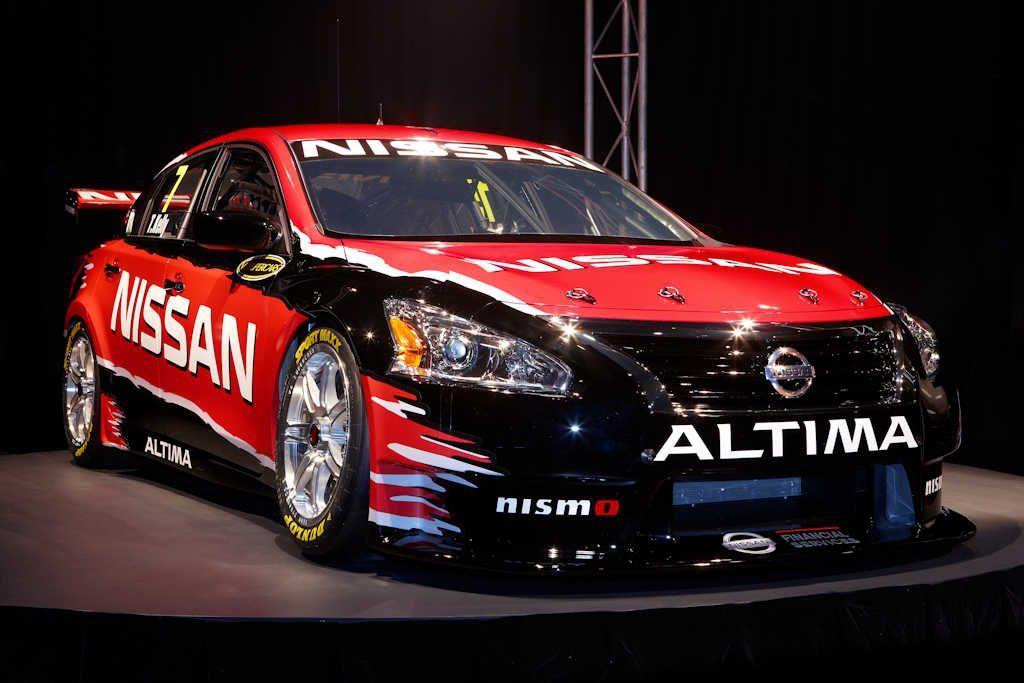 nissan altima v8 supercar  2013  australia  launch photos