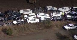 Train crash damages 120 BMW X3, X4, X5 and X6 SUVs in South Carolina