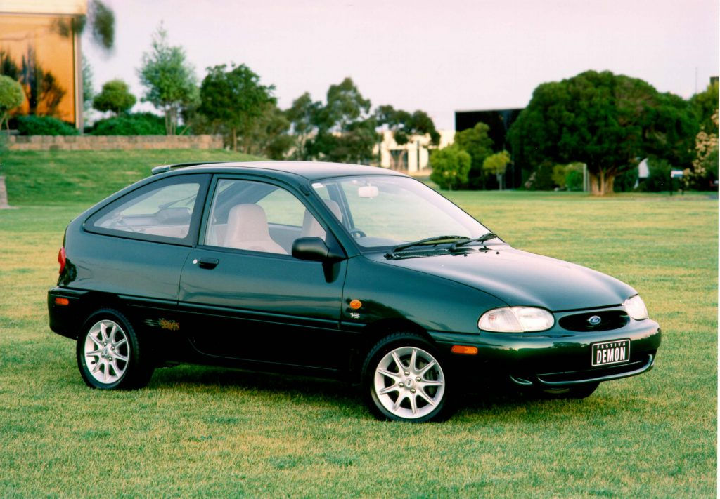 Ford Festiva 1998 Facelift Second Generation WF Australia Photos