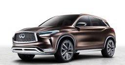 2018 Infiniti QX50 previewed by Concept with variable compression turbo