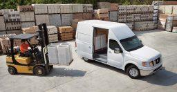 2017 Nissan NV2500, NV3500 vans gain more powerful 5.6-liter V8 option
