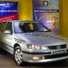Peugeot 406 ST HDi world record (2002, first generation, Australia) photos