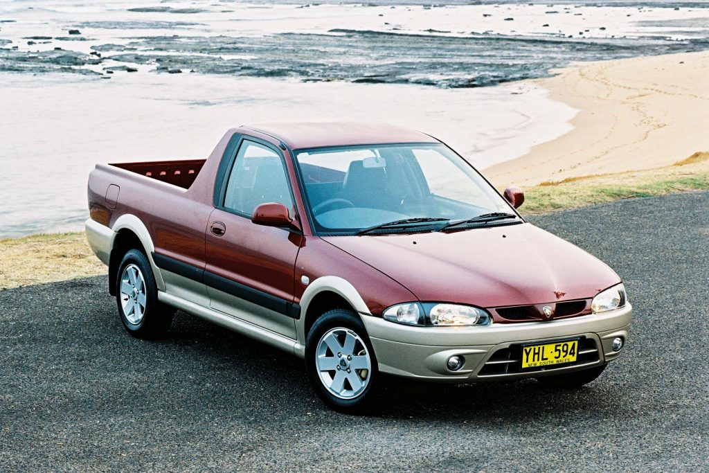 Proton Jumbuck (2002-2010, first generation, Australia ...