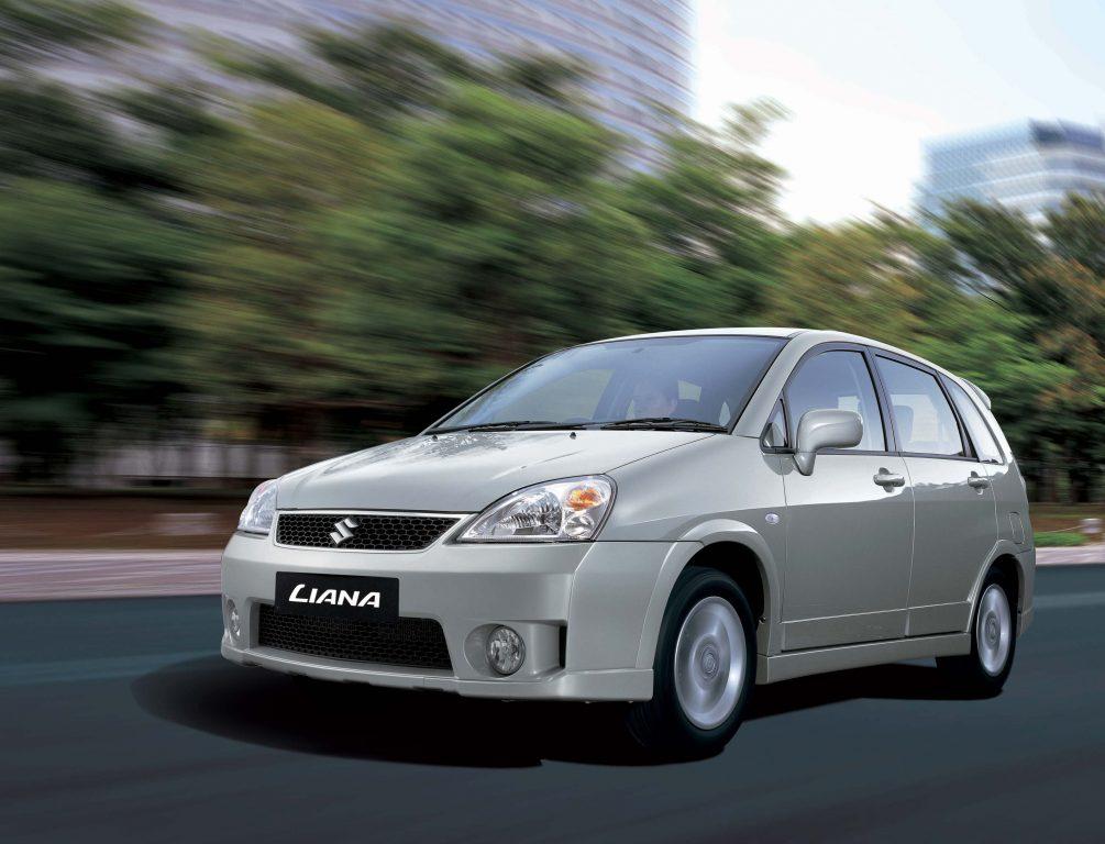 Suzuki Liana GS hatch, sedan (2004 facelift, first ...
