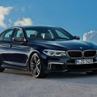 BMW M550i XDrive (2017, G30, seventh generation, 5-Series) photos