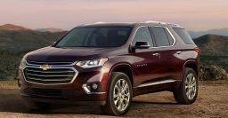 2019 Chevrolet Traverse: 2L turbo 4-cylinder axed from range