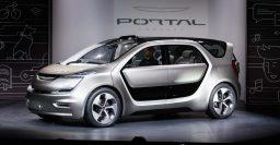 Chrysler Portal concept: Semi-autonomous EV minivan with office interior