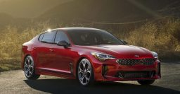 2018 Kia Stinger: RWD, 3.3-liter twin-turbo V6, shut up, take our money now