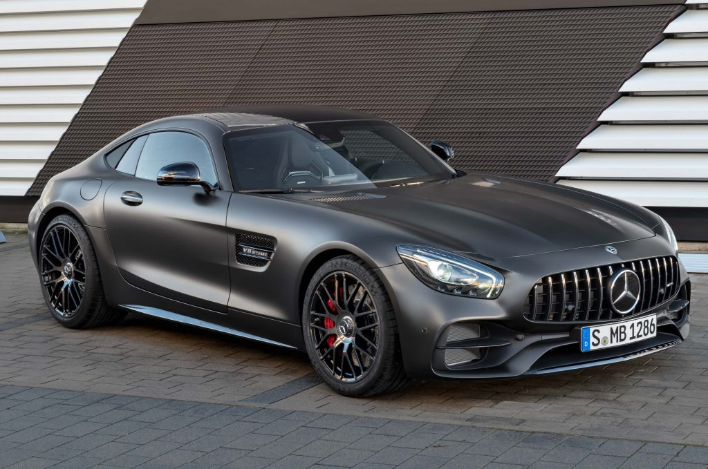 mercedes amg gt c edition 50 coupe 2017 c190 first gen photos between the axles. Black Bedroom Furniture Sets. Home Design Ideas