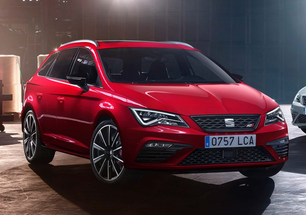 Seat Leon Cupra Hatch Wagon 2017 Update Type 5f Third