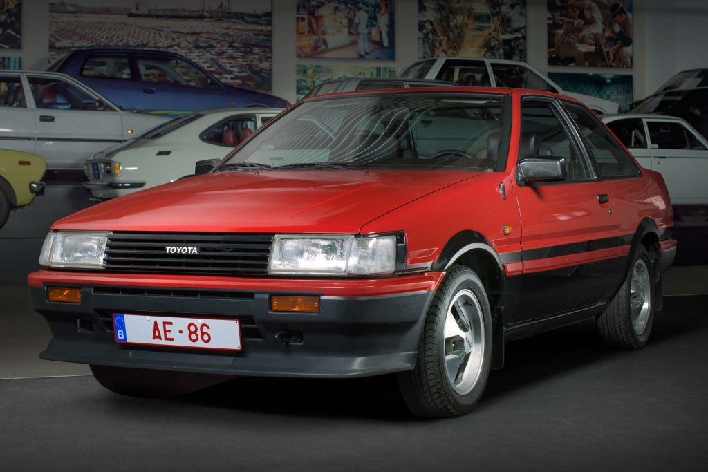 Toyota Corolla Gt Coupe Ae86 Fifth Generation Eu