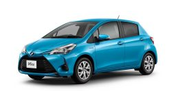 2017 Toyota Vitz: XP130 JDM facelift adds Hybrid model to range