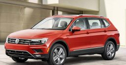 2018 Volkswagen Tiguan: LWB standard in USA, China; Allspace in EU